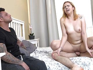 Redhead gf fuck for rent money